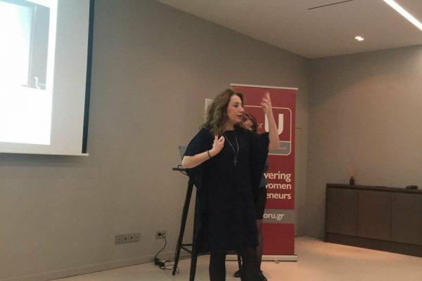 Nina Kaloutsa presents on how the voice contributes to success